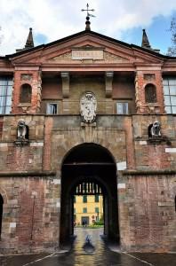 Italy-Lucca-Porta-San-Pietro-Wall-Entrance