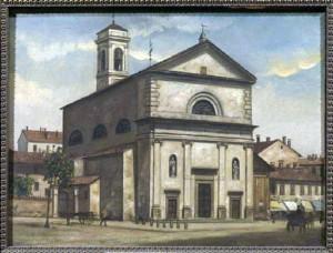 San-Pietro-in-Sala-in-un-dipinto-Ottocentesco