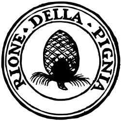 Rome_rione_IX_pigna_(logo)_svg